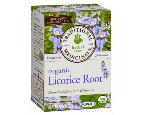 Traditional Medicinals Organic Licorice Root Tea 16 Teabags