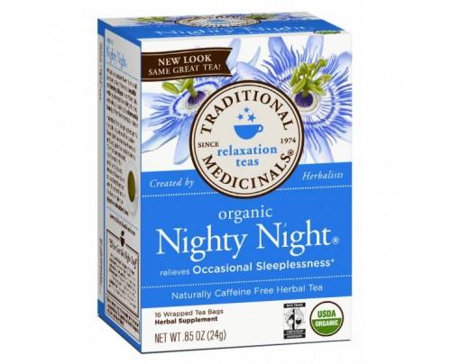 Traditional Medicinals Organic Nighty Night Tea 16 Teabags