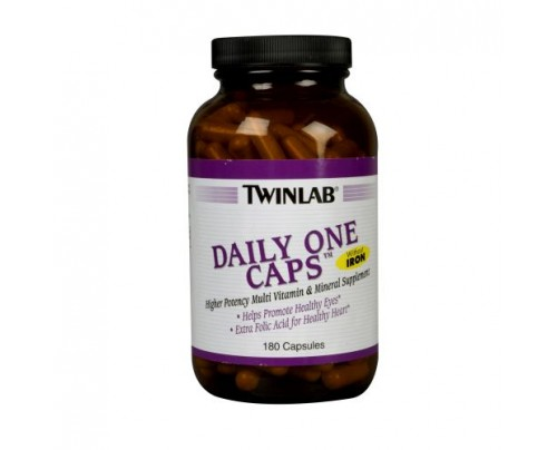 Twinlab Daily One No Iron 180 Capsules