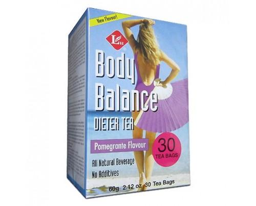 Uncle Lee's Body Slim Balance Pomegranate Dieter Tea 30 Tea Bags