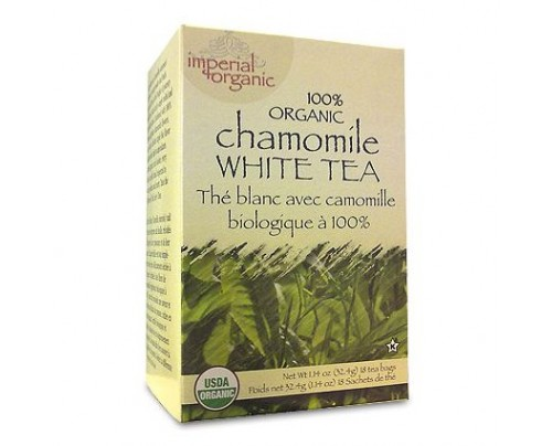 Uncle Lee's Imperial Organic Chamomile White Tea 18 Tea Bags