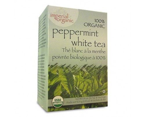 Uncle Lee's Imperial Organic Peppermint White Tea 18 Tea Bags