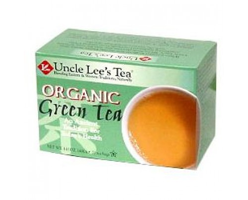 Uncle Lee's Organic Green Tea 20 Tea Bags
