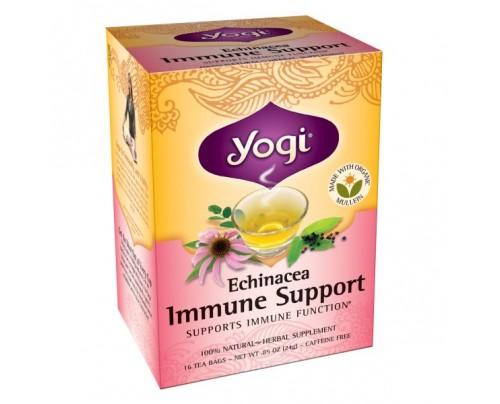 Yogi Tea Echinacea Immune Support Tea 16 Tea Bags
