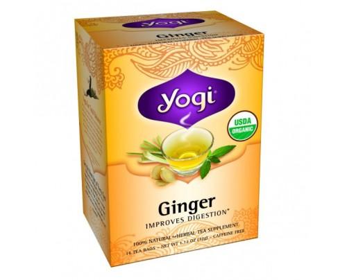 Yogi Tea Ginger Organic Tea 16 Tea Bags