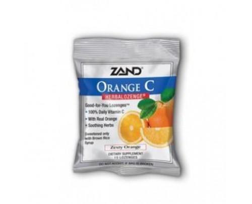 Zand HerbaLozenge Orange C 15 Lozenges