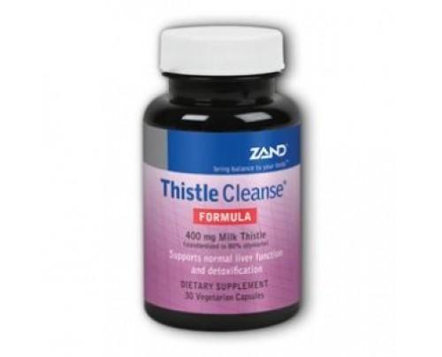 Zand Thistle Cleanse Formula 400 mg Milk Thistle 30 Vegetarian Capsules