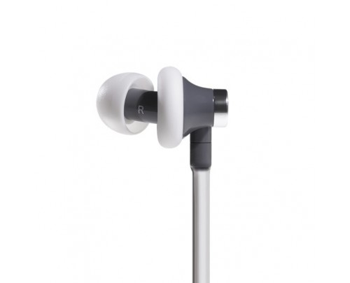 Aircom Audio A3 Active Hands-Free Headset Cell Phone Air Tube Stereo Earbuds White