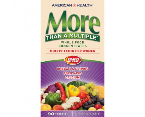 American Health More Than A Multiple For Women Whole Food Concentrate 90 Tablets