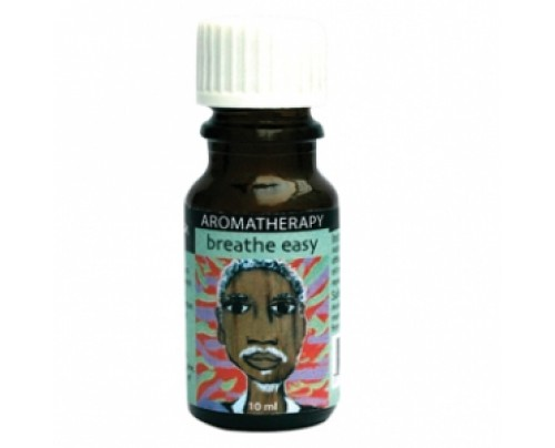 Earth Solutions Breathe Easy Affirmation Aromatherapy Oil 10 mL