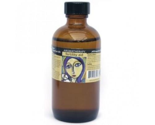 Earth Solutions Fertility Aid Affirmation Aromatherapy Oil 4 fl. oz.