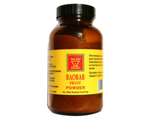 African Red Tea Imports Baobab Fruit Extract Powder 4 oz.