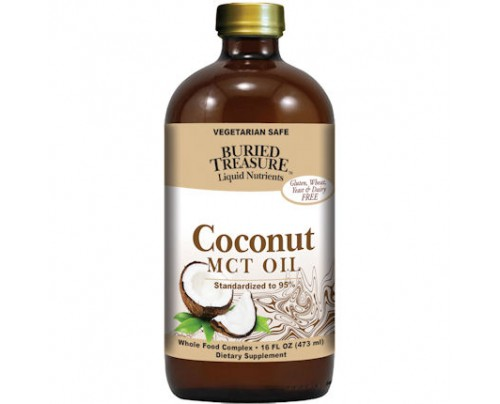 Buried Treasure MCT Oil from Coconut Oil 16 fl. oz.