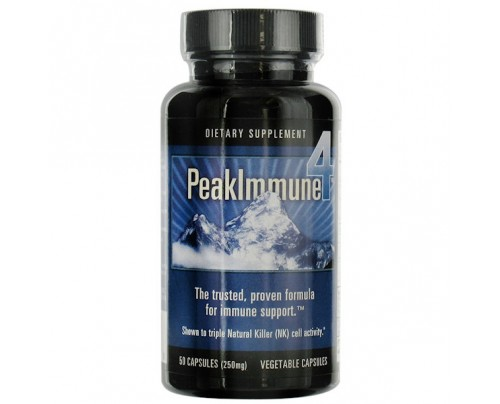 Daiwa Health Development Peak Immune 4 250mg 50 Vegetarian Capsules