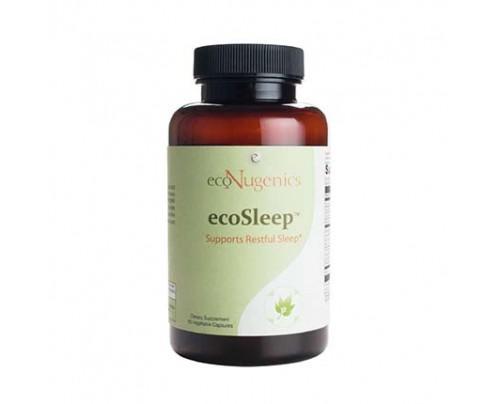 EcoNugenics ecoSleep 60 Vegetarian Capsules