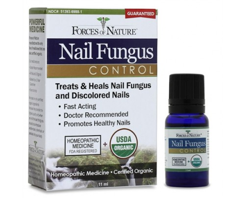 Forces Of Nature Nail Fungus Control Fungal Infection Treatment Organic Homeopathic Medicine 11 ml