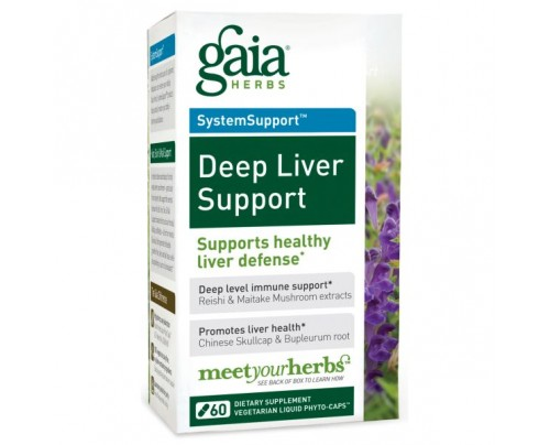 Gaia Herbs Deep Liver Support 60 Capsules