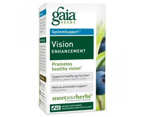 Gaia Herbs Vision Enhancement 60 Capsules