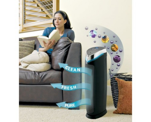 Guardian Technologies germguardian 3-in-1 Digital Air Cleaning System UV-C, True HEPA & Odor Reduction 28