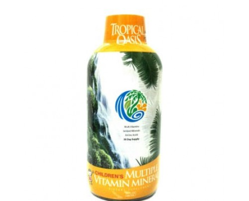 Tropical Oasis Kids Multiple Vitamin Mineral 16 fl. oz.