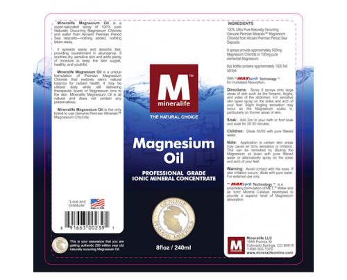 Mineralife Magnesium Oil 8 fl. oz.