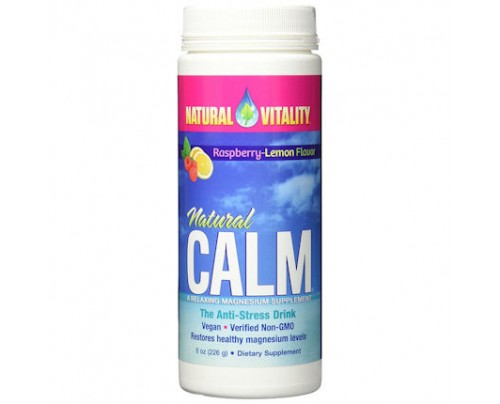 Natural Vitality Natural Calm Anti-Stress Drink Lemon 8 oz. (226 g)