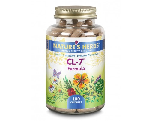Nature's Herbs CL-7 Formula 381 mg 100 Capsules