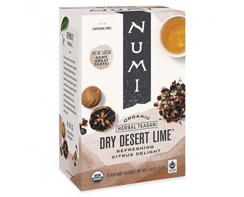 Numi Organic Tea Dry Desert Lime Tea 18 Tea Bags