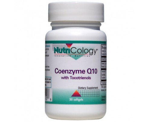 Nutricology CoQ10 with Tocotrienols 60 Softgels