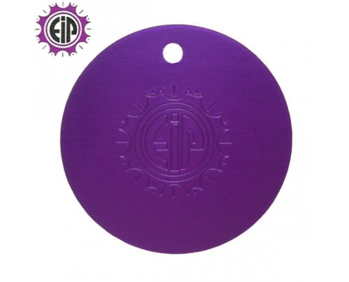 Energy Innovations EIP Original Positive Energy Nikola Tesla Purple Plate Pendant