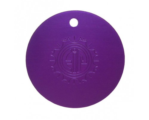 Energy Innovations 3-Pak Purple Plates (1 Large Plate, 1 Small Plate and 1 Large Disk)