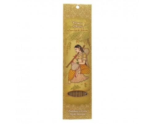 Prabhuji's Gifts Stick Incense Ragini Gujari Intimacy Jasmine & Vanilla 10 Sticks