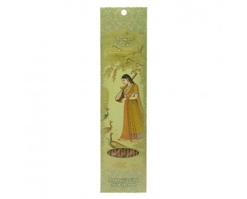 Prabhuji's Gifts Stick Incense Ragini Kakubha Ecstasy Floral Sandalwood 10 Sticks