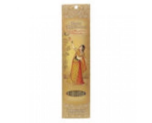 Prabhuji's Gifts Stick Incense Ragini Madhumadhavi Bliss Tulasi, Sandalwood & Citronella 10 Sticks