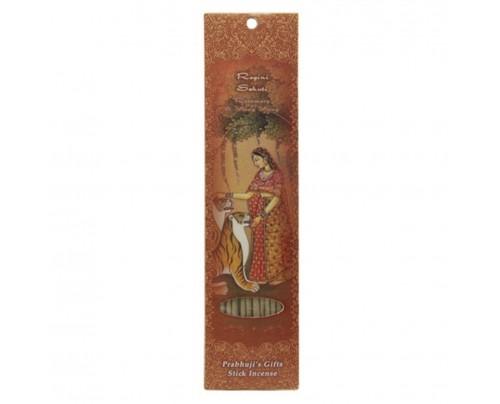 Prabhuji's Gifts Stick Incense Ragini Sehuti Tranquility Rosemary & Ylang Ylang 10 Sticks
