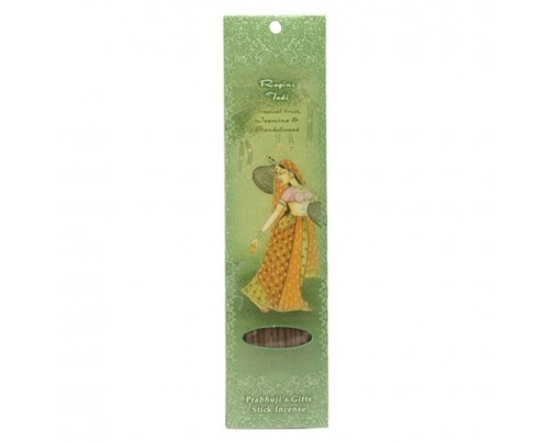 Prabhuji's Gifts Stick Incense Ragini Todi Euphoria Tropical Fruit, Jasmine & Sandalwood 10 Sticks