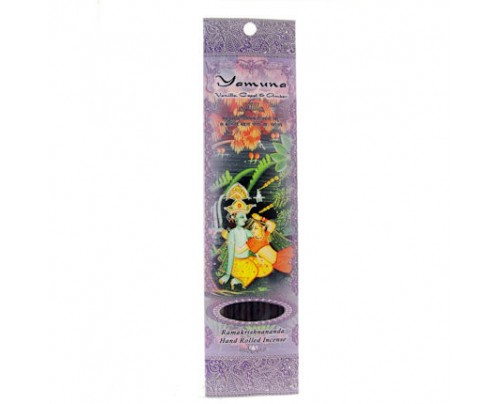 Prabhuji's Gifts Stick Incense Yamuna Vanilla, Copal & Amber 10 Sticks