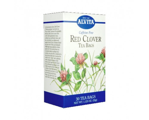 Alvita Teas Red Clover Tea 30 Teabags