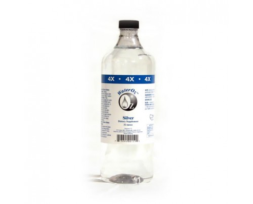 WaterOz Silver Ionic Mineral Water 4x Concentrate 400 ppm