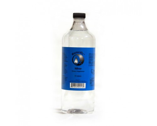 WaterOz Silver Ionic Mineral Water 100 ppm
