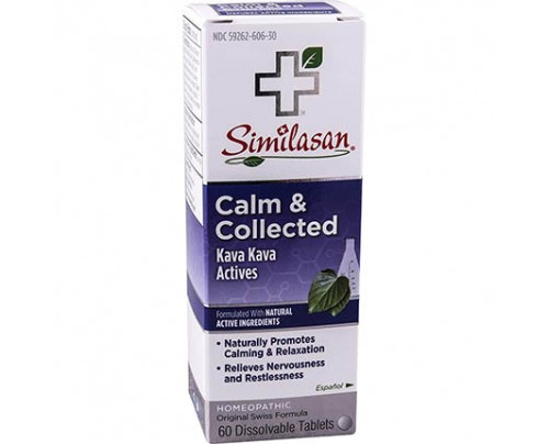 Similasan Calm & Collected Dissolvable 60 Tablets