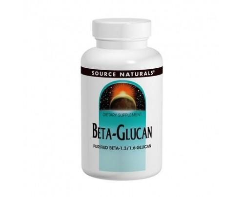 Source Naturals Beta-Glucan 250 mg 60 Tablets