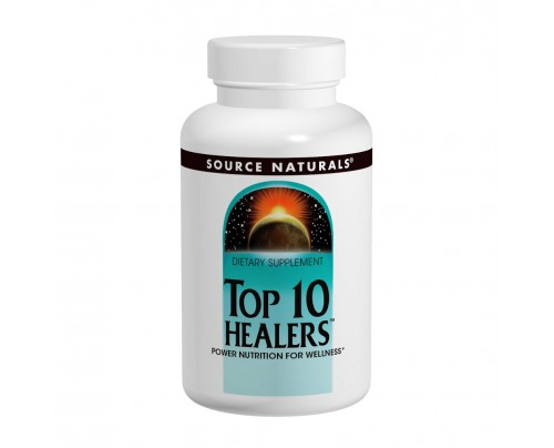 Source Naturals Top 10 Healers 30 Tablets