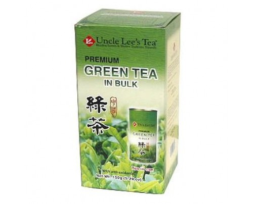 Uncle Lee's Loose Premium Bulk Green Tea 5.29 oz.