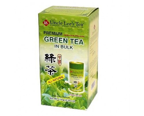 Uncle Lee's Loose Premium Bulk Jasmine Green Tea 5.29 oz.