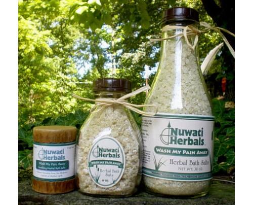 Nuwati Herbals Wash My Pain Away Bath Salt 4oz.