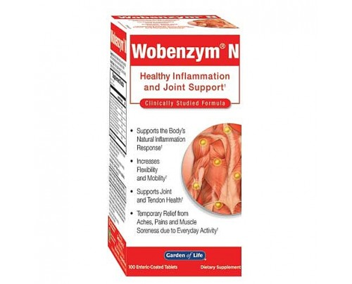 Garden of Life Wobenzym N 100 Tablets