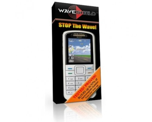 Waveshield Cell Phone Radiation Protection Shield 24k Gold Slim