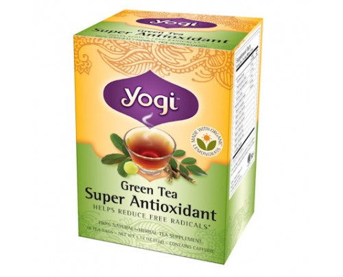 Yogi Tea Green Tea Super Antioxidant 16 Tea Bags