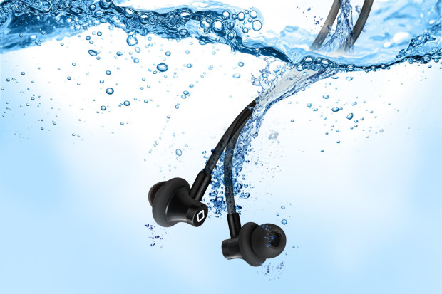Aircom Audio A3b Wireless Stereo Hands Free Headset with Mircro Earbuds Under Water